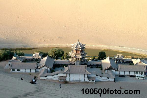 Оазис «Полумесяц» в пустыне Гоби (Китай) - 2