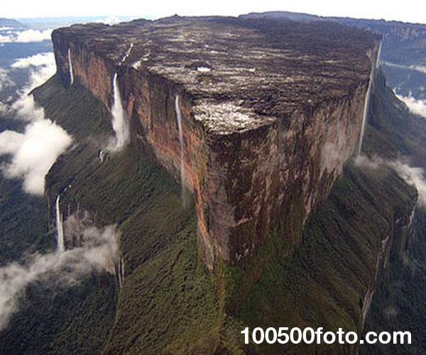 Гора Рорайма, Бразилия