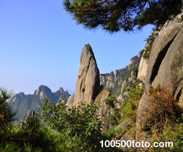 Гора Санкуиншань, Китай