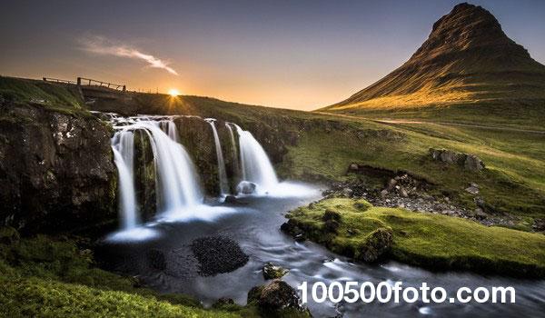 Kirkjufell в Исландии