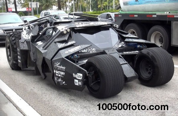 Авто Batman Tumbler 2013 Gumball 3000