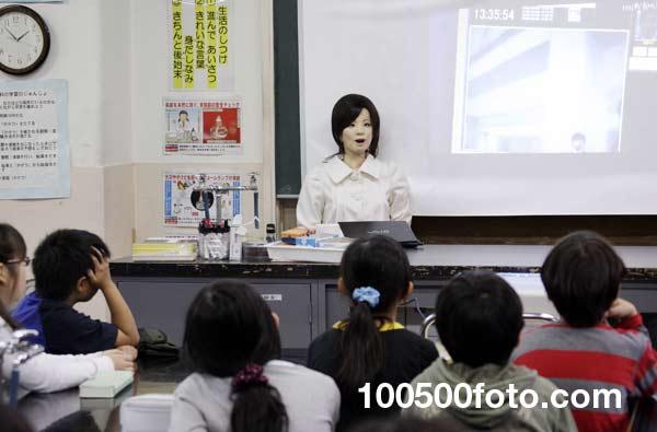 Робот-учитель Сая - 1