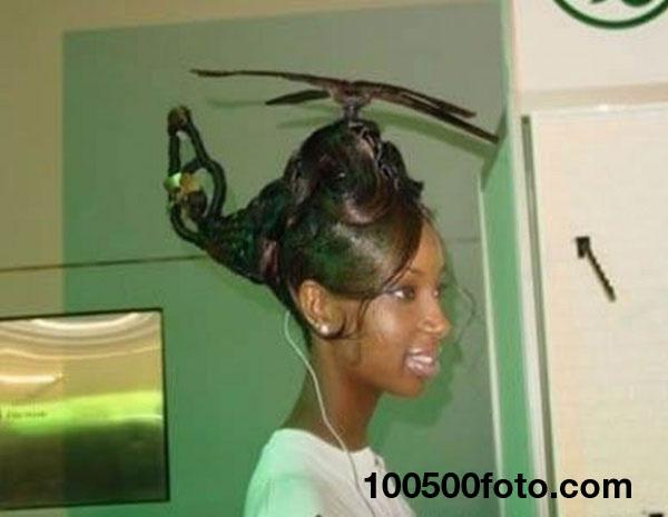 Прическа «Вертолет»