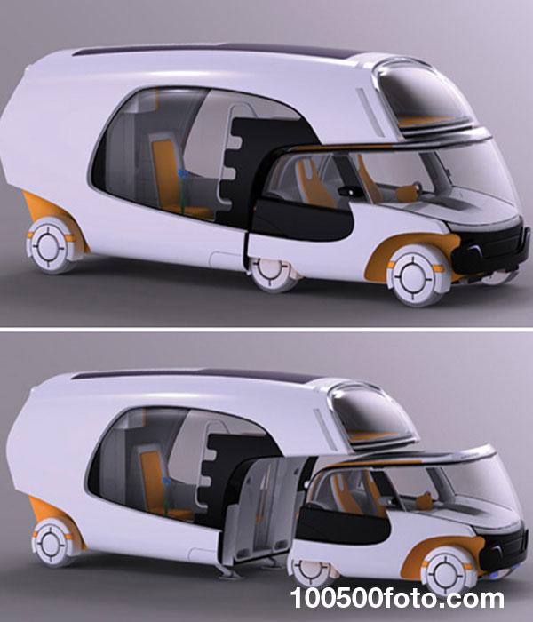 Дом на колесах Colim Caravan