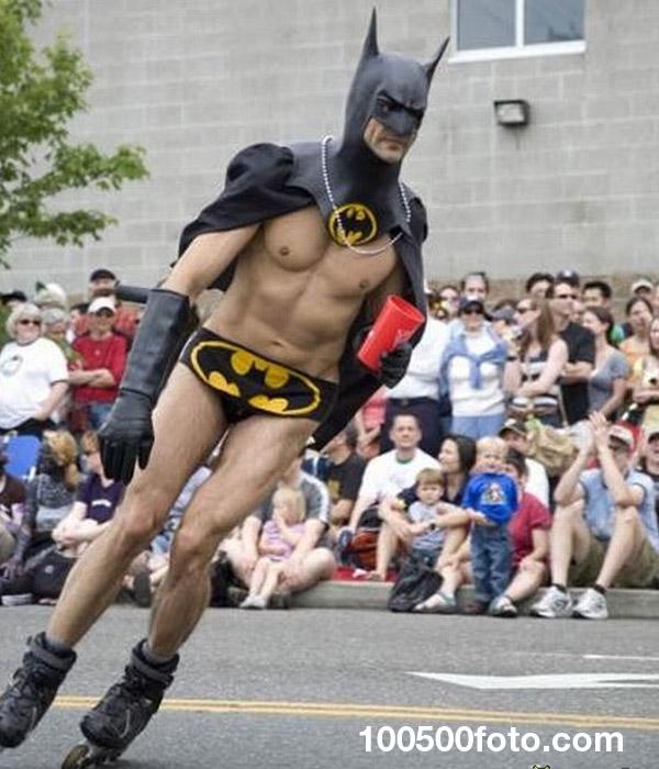 Бэтмен на роликах