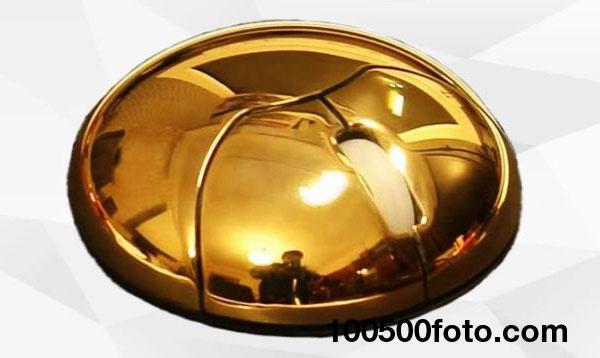 Золотая солнечная мышь (модель MJ777) стоимостью $19 720
