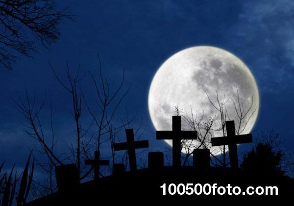 Кладбище на Луне