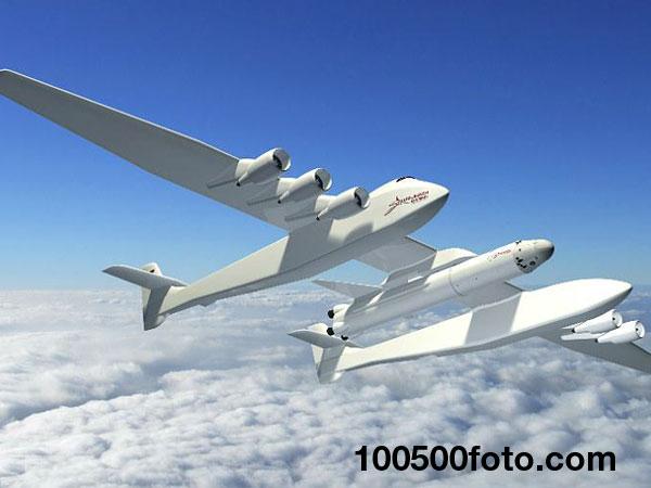 Самолет для запуска ракет Stratolaunch