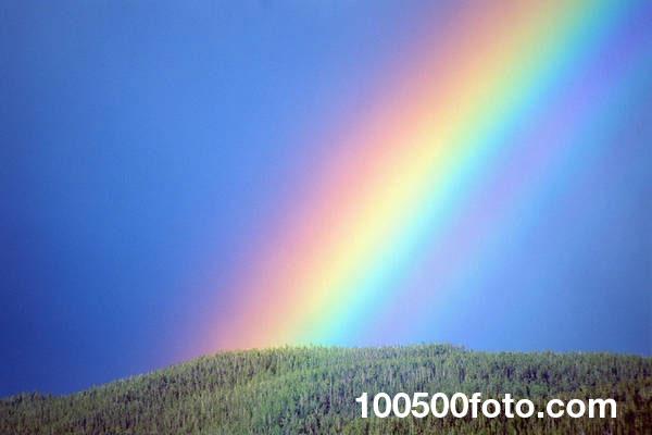 радуга на небе фото