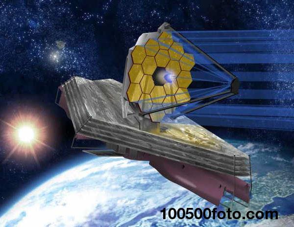 Космический телескоп Джеймса Уэбба ($8,8 млрд.)