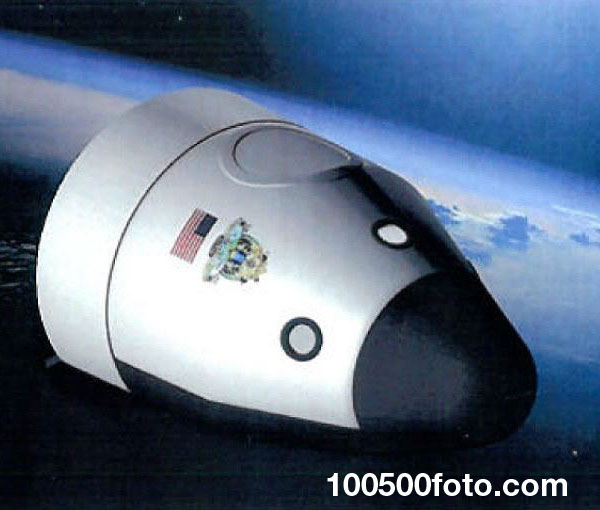 Space Vehicle от Blue Origin