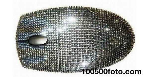 Мышь с черными бриллиантами от Logitech (цена – $31 840)