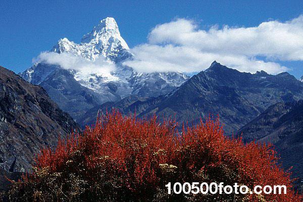Ама-Даблам в Непале