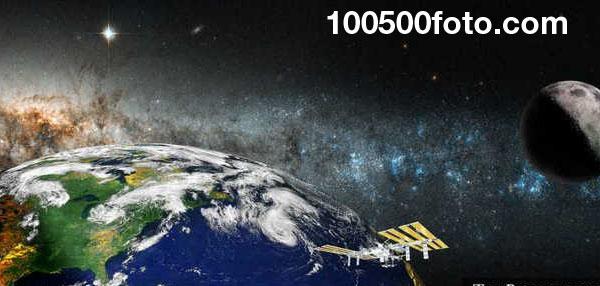 Международная космическая станция ($160 млрд.)