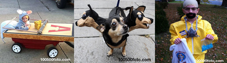 Самые забавные и оригинальные костюмы для Хэллоуина