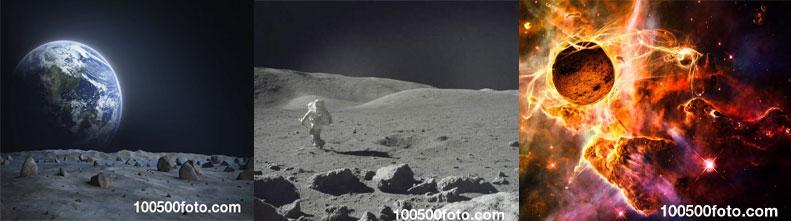 Самые интересные загадки Луны