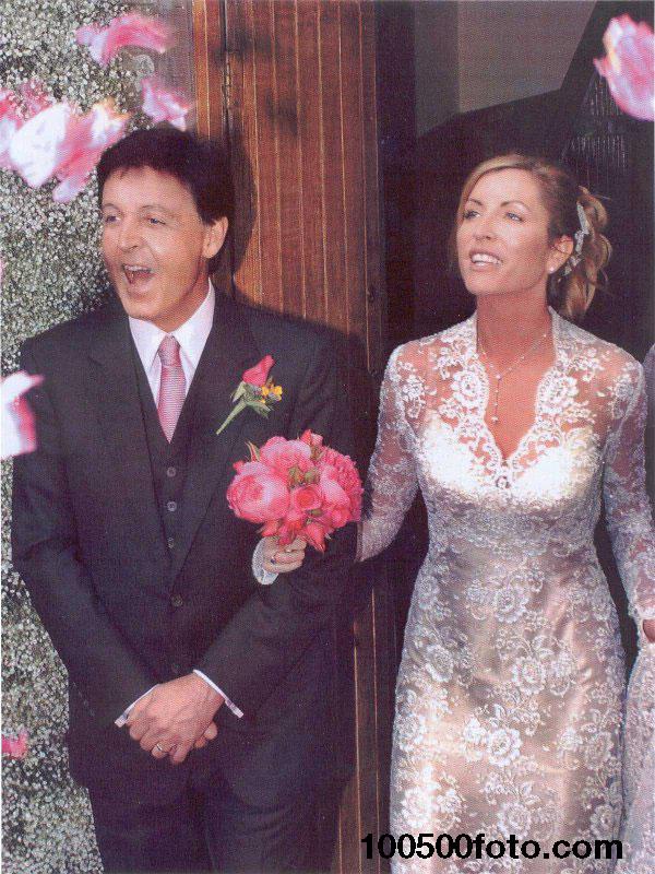 Свадебное платье Хизер Миллс стоимостью $40 000