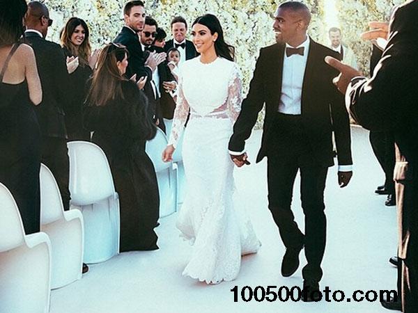Свадебный наряд Ким Кардашян по цене $500 000