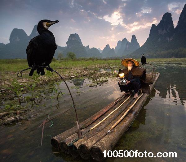 Человек на лодке (Китай)