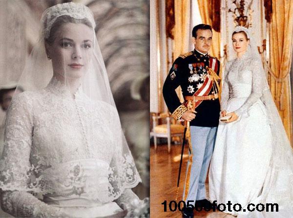 Платье Грейс Келли для свадьбы стоимостью $65 000