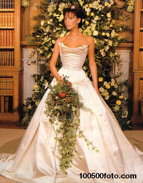 Свадебный наряд Виктории Бекхэм стоимостью $100 000
