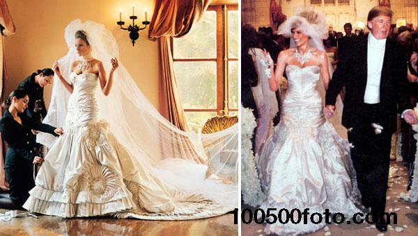 Платье для свадьбы Мелании Кнаусс по цене $100 000 - $200 000