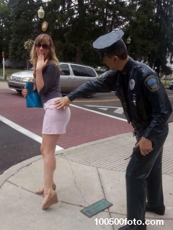 Полицейский, который старался выполнять свою работу
