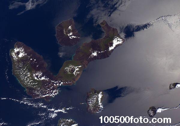Известные Галапагосские острова. Сегодня они входят в список Всемирного наследия ЮНЕСКО.