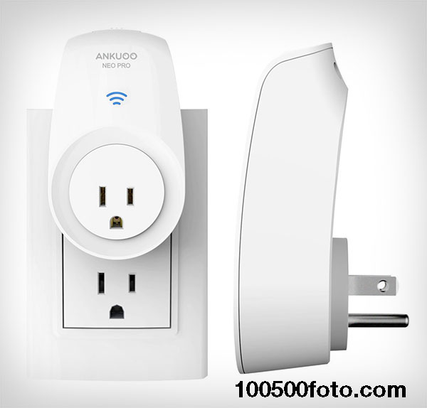 Умный выключатель для электроприборов с Wi-Fi