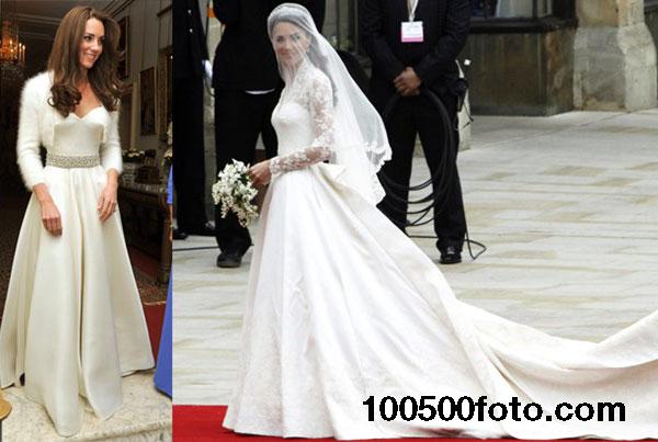 Свадебное платье Кейт Миддлтон стоимостью $400 000