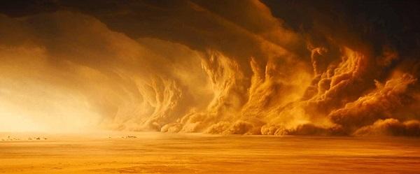 Бури на Марсе: фото
