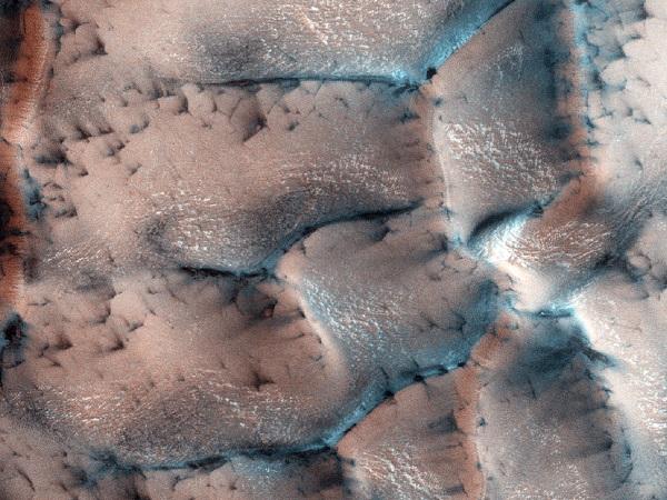 Фото зима на Марсе