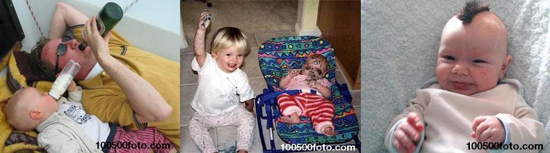 Самые смешные фотографии детей