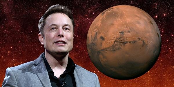 Илон Маск запустил проект Марс