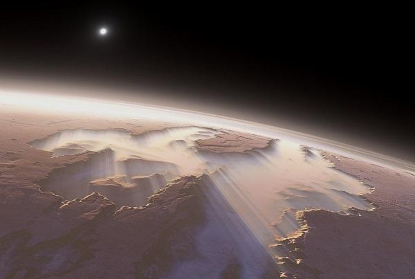Долина Маринера - самый большой каньон в Солнечной системе