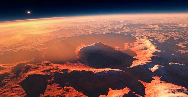 фото красной планеты