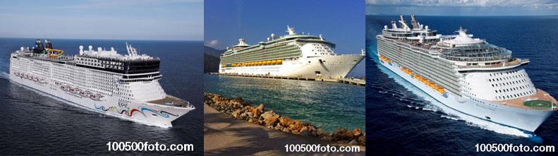Крупнейшие в мире круизные лайнеры