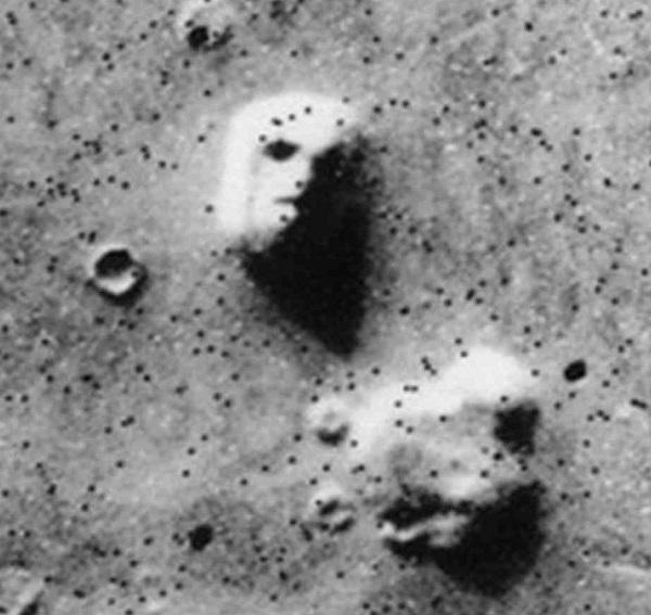 Лицо на Марсе: фото