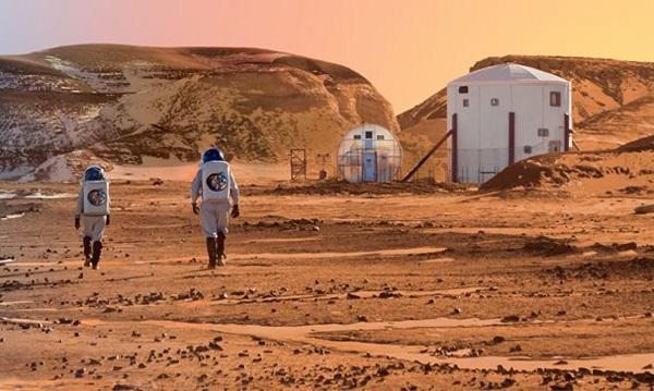 Сколько лететь на Марс: фото