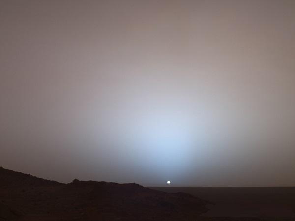 Марсианский закат с Марсохода Spirit