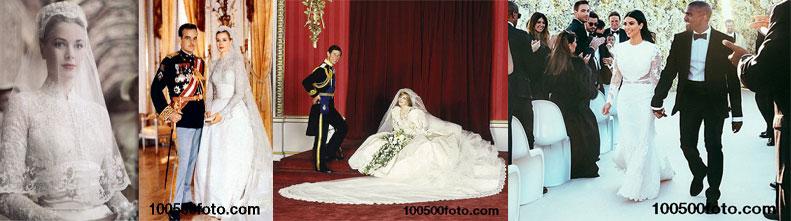 Самые дорогие в мире свадебные платья знаменитостей