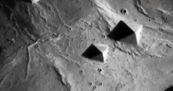Пирамиды на Марсе: фото