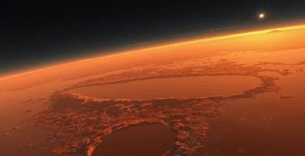 Южное полушарие Марса