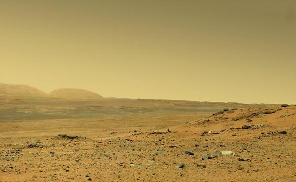 Северное полушарие Марса