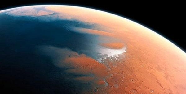 Вода на Марсе существовала