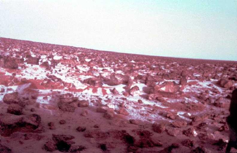 Смена времён года на Марсе