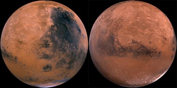 Марс – двуликая планета