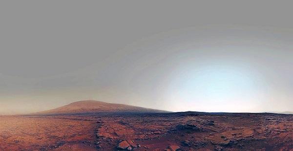 Марсианский рассвет