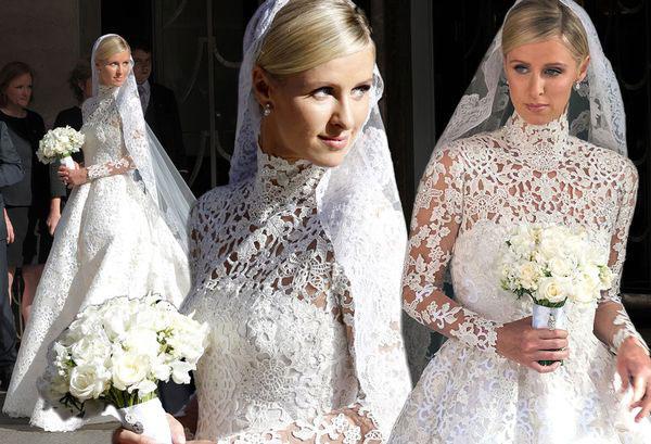 Свадебное платье Ники Хилтон 1