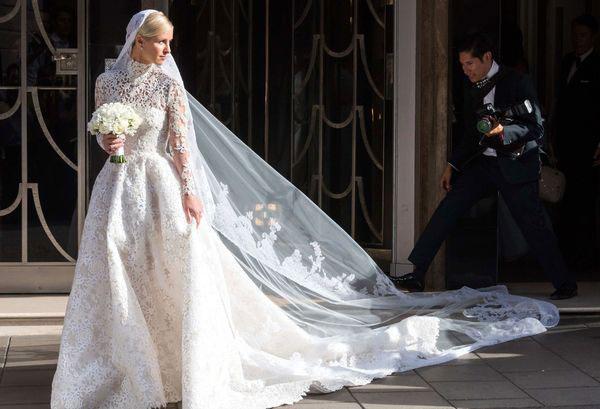 Свадебное платье Ники Хилтон 2